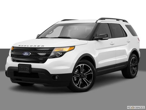 2015 Ford Explorer 4-door   Sport Utility Front angle medium view photo