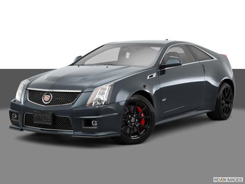 2015 Cadillac CTS 2-door CTS-V  Coupe Front angle medium view photo