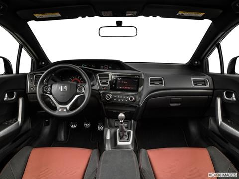 2014 Honda Civic 2-door Si  Coupe Dashboard, center console, gear shifter view photo