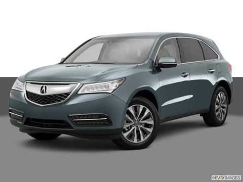 2015 Acura MDX 4-door   Sport Utility Front angle medium view photo