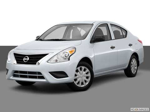 2015 Nissan Versa 4-door S  Sedan Front angle medium view photo