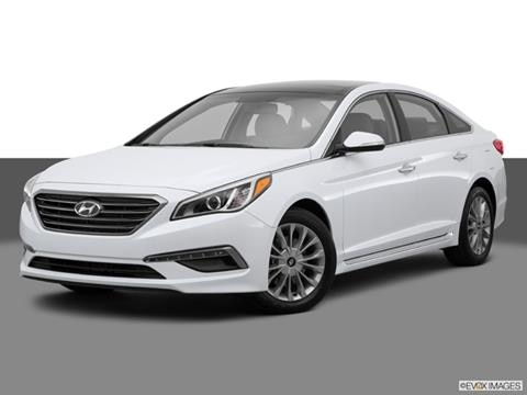 2015 Hyundai Sonata 4-door Limited  Sedan Front angle medium view photo