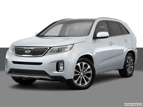 2015 Kia Sorento 4-door SX  Sport Utility Front angle medium view photo