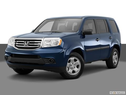 2015 Honda Pilot 4-door LX  Sport Utility Front angle medium view photo