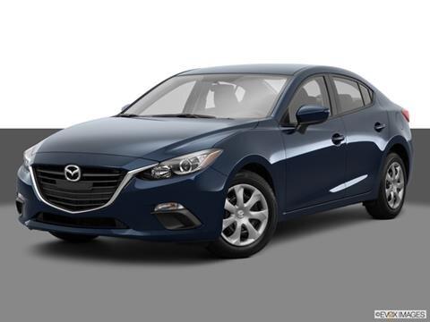2015 Mazda MAZDA3 4-door i SV  Sedan Front angle medium view photo