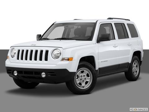 2015 Jeep Patriot 4-door Latitude  Sport Utility Front angle medium view photo