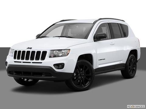 2015 Jeep Compass 4-door Sport  Sport Utility Front angle medium view photo