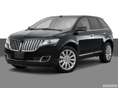 2015 Lincoln MKX 4-door   Sport Utility Front angle medium view photo