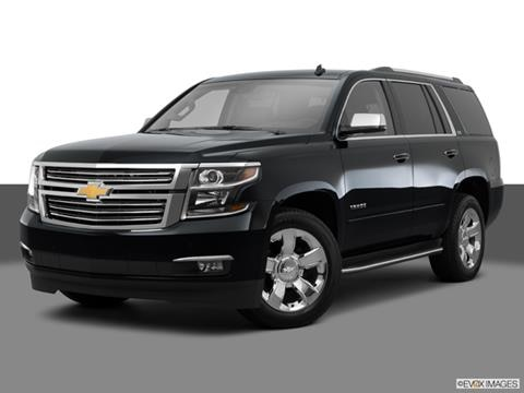 2015 Chevrolet Tahoe 4-door LTZ  Sport Utility Front angle medium view photo