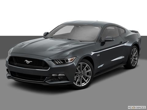 2015 Ford Mustang 2-door V6  Coupe Front angle medium view photo