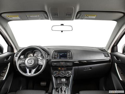 2015 Mazda CX-5 4-door Grand Touring  Sport Utility Dashboard, center console, gear shifter view photo