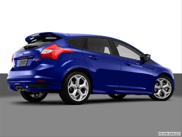 Ford Focus 2014 St Blue