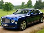 2012 Bentley Mulsanne  Sedan