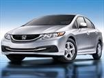 2013 Honda Civic Natural Gas  Sedan