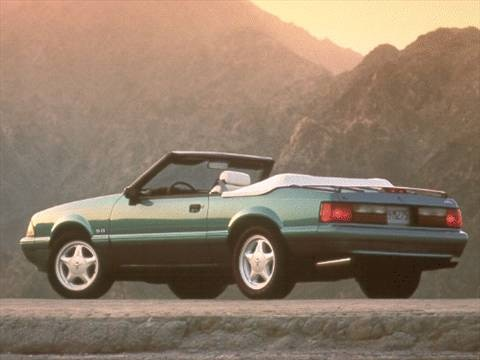 1993 ford mustang lx convertible 2d pictures and videos kelley blue book. Black Bedroom Furniture Sets. Home Design Ideas