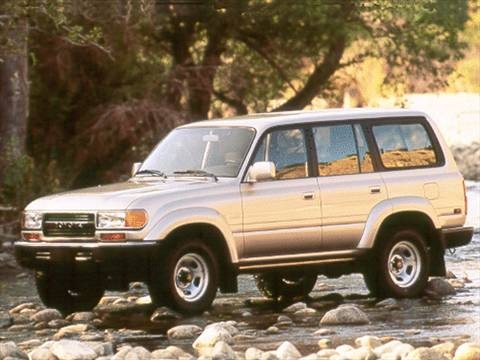 1993 Toyota Land Cruiser Sport Utility 4D  photo