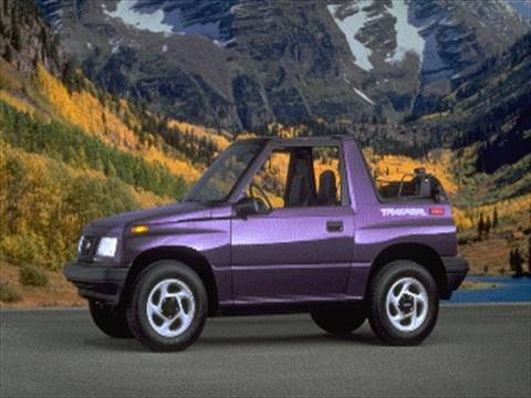 1995 geo tracker sport utility convertible 2d pictures and