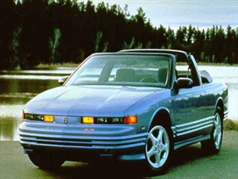 1995 oldsmobile cutlass supreme convertible 2d pictures and videos kelley blue book. Black Bedroom Furniture Sets. Home Design Ideas