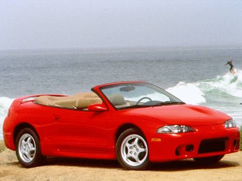 1997 mitsubishi eclipse gs t spyder convertible 2d pictures and videos kelley blue book. Black Bedroom Furniture Sets. Home Design Ideas