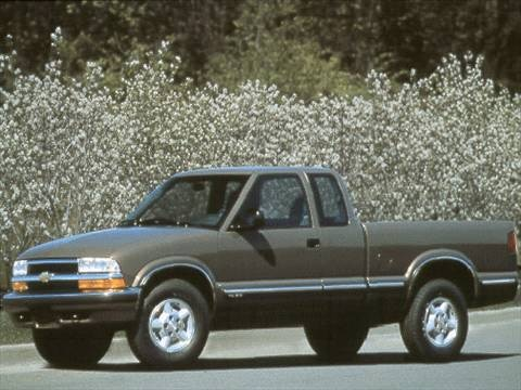 used chevrolet s10 extended cab pickup kelley blue book