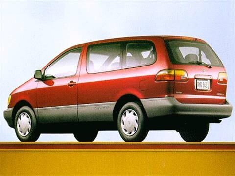 1998 Toyota Sienna CE Minivan  photo