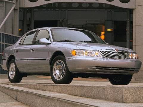 1999 lincoln continental sedan 4d pictures and videos kelley blue book. Black Bedroom Furniture Sets. Home Design Ideas