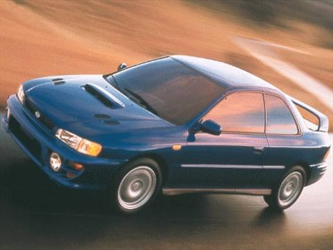 1999 subaru impreza 2 5rs coupe 2d pictures and videos kelley blue book. Black Bedroom Furniture Sets. Home Design Ideas