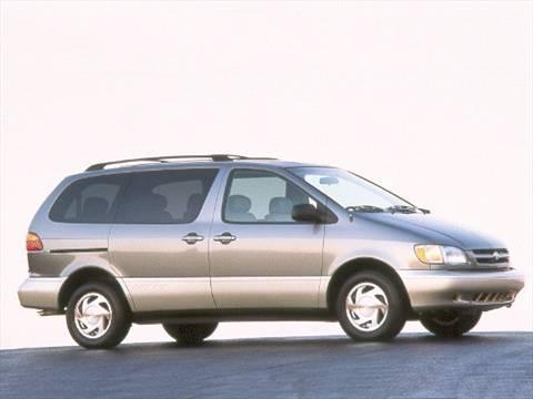 2000 Toyota Sienna CE Minivan  photo