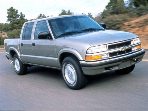 2001 chevrolet s10 crew cab ls short bed pictures and videos kelley blue book. Black Bedroom Furniture Sets. Home Design Ideas