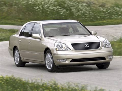 2001 Lexus LS LS 430 Sedan 4D  photo