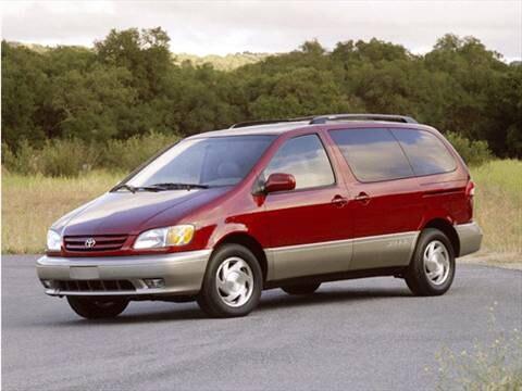 2001 Toyota Sienna CE Minivan  photo