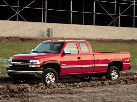 2002 Chevrolet Silverado 2500 HD Extended Cab Short Bed  photo