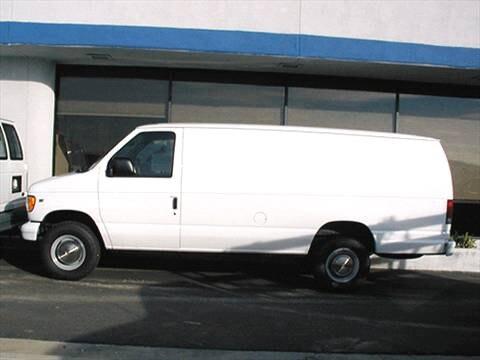 2000 ford econoline e350 super duty cargo kelley blue book. Black Bedroom Furniture Sets. Home Design Ideas