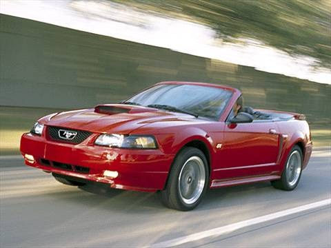 2002 Ford Mustang Deluxe Convertible 2D  photo