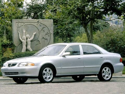 2002 mazda 626 es sedan 4d pictures and videos kelley. Black Bedroom Furniture Sets. Home Design Ideas