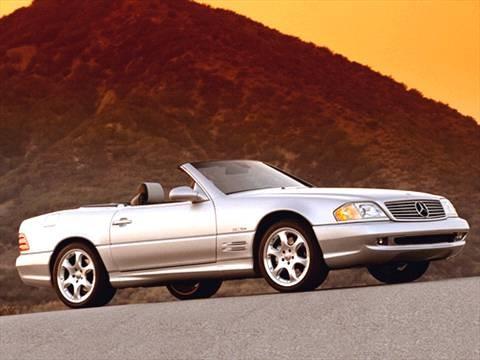 2002 Mercedes-Benz SL-Class SL500 Roadster 2D  photo