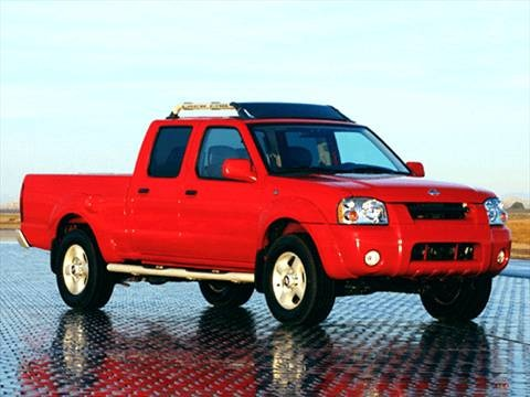 2002 Nissan Frontier Crew Cab XE Short Bed  photo