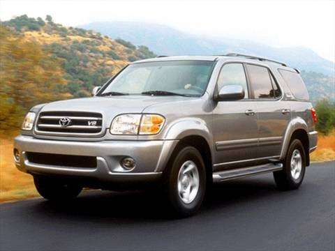 2002 Toyota Sequoia SR5 Sport Utility 4D  photo