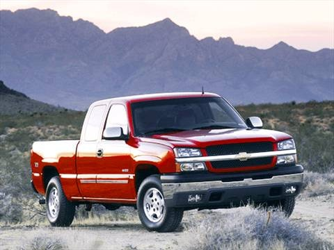 2003 Chevrolet Silverado 1500 Extended Cab Work Truck Pickup 4D 6 1/2 ft  photo