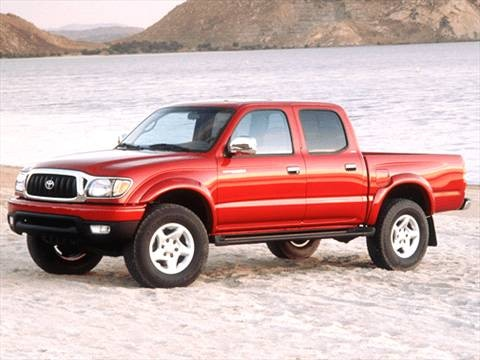 2003 Toyota Tacoma Double Cab Pickup 4D 5 ft  photo