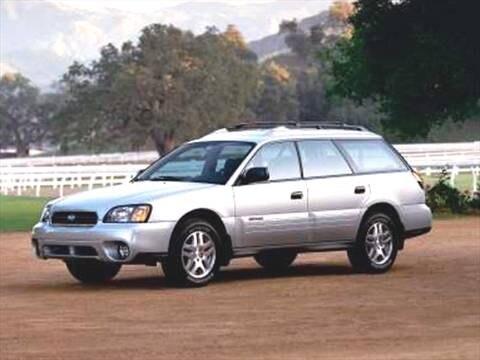 2004 Subaru Outback Wagon 4D  photo