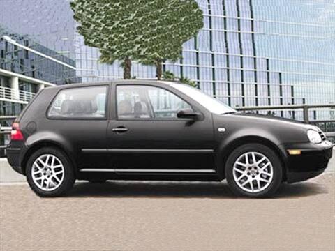 2004 Volkswagen Golf GL Hatchback 2D  photo