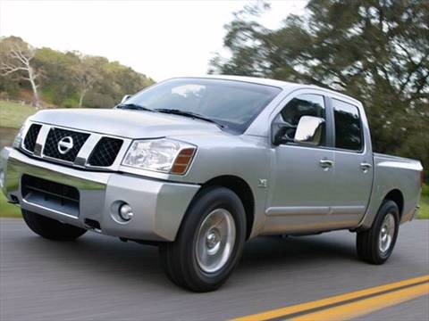 2007 Nissan Titan Crew Cab XE Pickup 4D 5 1/2 ft  photo