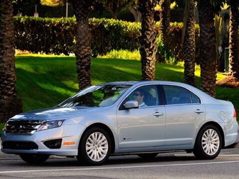 2010 Ford Fusion Hybrid Sedan 4D  photo