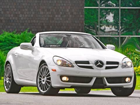 2010 Mercedes-Benz SLK-Class SLK300 Roadster 2D  photo