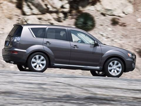 2010 Mitsubishi Outlander SE Sport Utility 4D Pictures and Videos - Kelley Blue Book