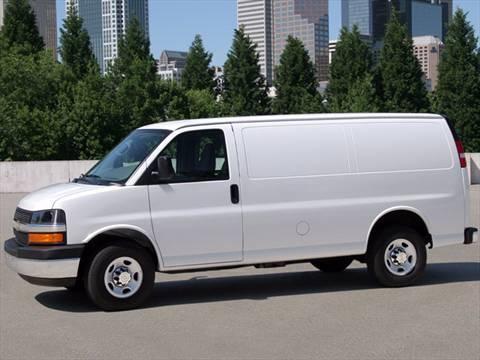 2011 chevrolet express 3500 cargo diesel extended van 3d. Black Bedroom Furniture Sets. Home Design Ideas