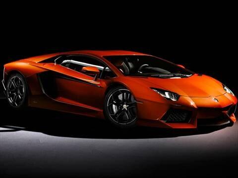 2012 Lamborghini Aventador LP 700-4 Coupe 2D  photo