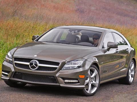 2012 Mercedes-Benz CLS-Class CLS550 Coupe 4D  photo