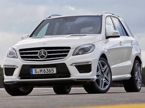 2012 Mercedes-Benz M-Class ML63 AMG 4MATIC Sport Utility 4D  photo